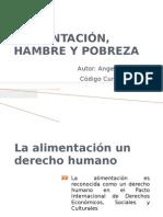 ALIMENTACIÓN, HAMBRE Y POBREZA