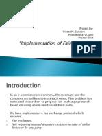 Fair Exchange Protocol New