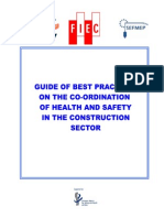 A.guide of Best Practices of Coordination in Construction