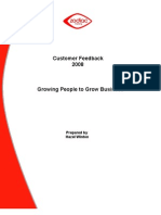 Customer Feedback Report 2008