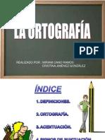 Powerpoint trabajo de ortografía