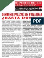 El Despertar de Los Trabajadores - CEIP Patricio Sobarzo