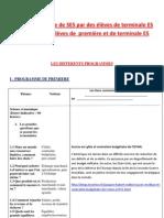 Revue de presse de terminale ES du 28 novembre au 3 décembre 2011