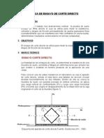 Ensayo de Corte Directo Practica-1