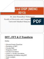 Advanced Dsp (Menc 5013)_4_dft,Fft,z