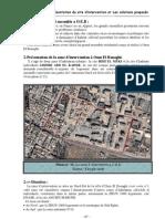 6 Chapitre Présentation du site d'intervention et Les solutions proposés