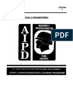 US Army Engineer Course - Soils Engineering EN5453