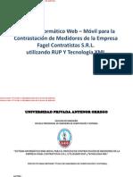 Tesis Sistema Web-Movil utilizando RUP y XML