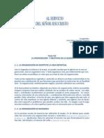 ORGANIZACIÓN Y OBJETIVOS DE LA IGLESIA.