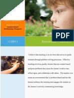 educational philosophy package