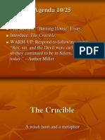 Crucible Intro