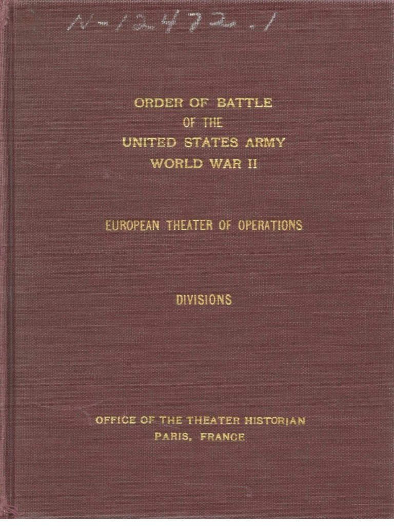 cover letter french%0A Order of Battle of the United States Army World War II Divisions         Military Rank   Battalion