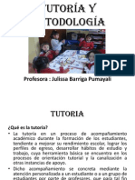 TUTORIA Y METODOLOGIA