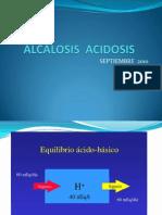 Clase Alcalosis Acidosis