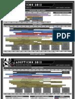 Adepticon 2012 Schedule