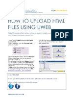 How To Use UWEB