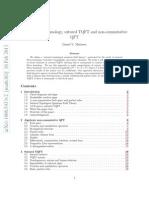 Daniel V. Mathews- Sutured Floer homology, sutured TQFT and non-commutative QFT