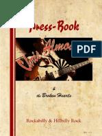 Chris Almoada's Press-Book - English, With Tonio