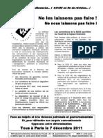 Tract SUD d'Appel BASS Pour Le 7.12