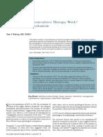 Mecanismo de acción de la Terapia Electroconvulsiva