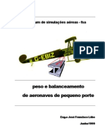 Calculo CG Aeronave Peq Porte