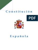 CONSTITUCIÓN ESPAÑOLA (1978)