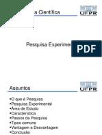Pesquisa Experimental (1)