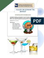 BAR -SALÓN DE JUEGOS EL HONGO