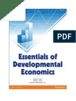 Essentials of Developmental Economics by Todaro, Smith, & Meandahawi