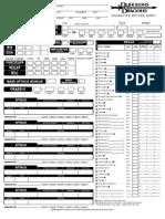 Character Sheet - Rogue v3.5