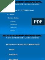 Palestra - Relacionamento Interpessoal.