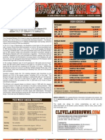 Browns-Jacksonville Game Notes (Browns)