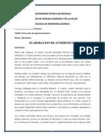 ELABORACION DE MEDICAMENTOS