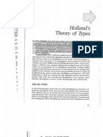 Holland s Theory of Types