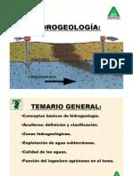 Hidrogeologia 2010