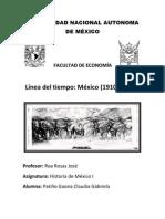 Linea Del Tiempo 1910-2010