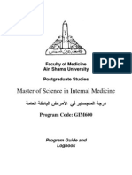 Master of Internal Medicine Logbook1