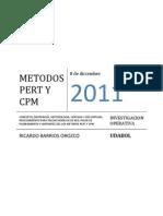 Metodos Pert y Cpm