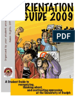 Disorientation Guide 2009