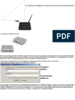 Configuración Router NG-318 y NG-5801H