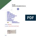 CLASIFICACIÓN DE ANSIOLÍTICOS