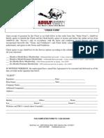 Premium Business Agreement