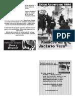 24 de Agosto de 1994, masacre en Jacinto Vera