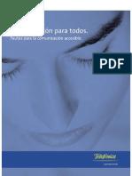 Comunicación para Todos, Pautas para la Comunicación Accesib_España