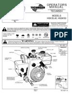 MODEL HSSK50 Operators Manual