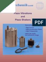15 Piezo Vibrations Shakers