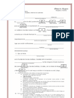 Formulario para solicitud de inscripción de Abogados y Notarios.