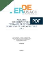 Programa Consejero Superior Por Verde Usach Rene Andrade