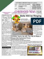Historic Old Northeast Newsletter December 2011