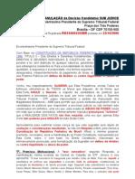 Peticao STF ANULACAO Da Decisao Candidatos